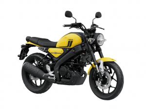 XSR125 Impact Yellow
